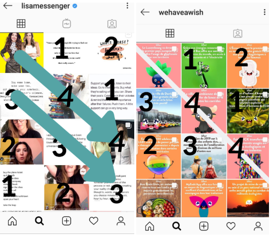 Amazing Instagram Feed Layouts