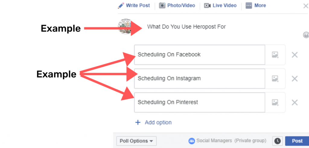 How To Do A Facebook Poll Effectively Today